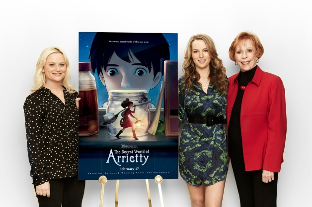 "Amy Poehler, Bridget Mendler and Carol Burnett promote Disney's ""The Secret World of Arrietty"" in L.A."