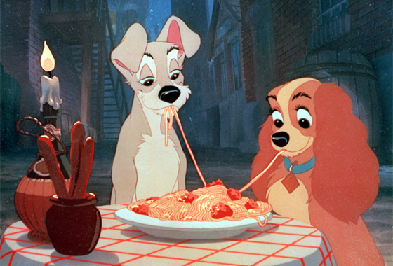 "Disney's ""Lady and the Tramp"" (photo by Disney)"